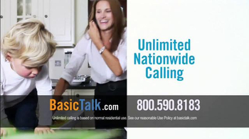 BasicTalk TV Spot, 'Reliable Home Phone Service' - Thumbnail 4