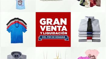 JCPenney Gran Venta y Liquidación TV Spot, 'Ropa' [Spanish]