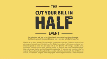 Sprint Cut Your Bill in Half Event TV Spot, 'Say Goodbye' - Thumbnail 8
