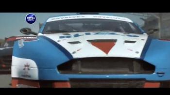 Nivea Men Sensitive Shaving Gel TV Spot, 'Car Race Shave Irritation' - Thumbnail 1