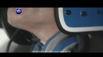 Nivea Men Sensitive Shaving Gel TV Spot, 'Car Race Shave Irritation' - Thumbnail 2
