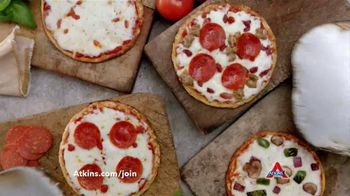 Atkins Pizza TV Spot, 'Don't Miss Pizza' Featuring Sharon Osbourne - 567 commercial airings