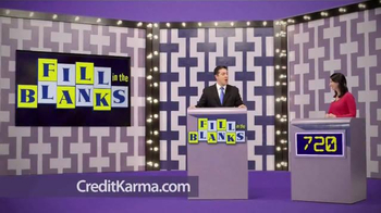 Credit Karma TV Spot, 'Fill in the Blanks'