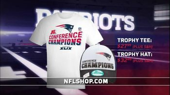 NFL Shop TV Spot, 'Patriots: Winner of 2015 AFC Championship'