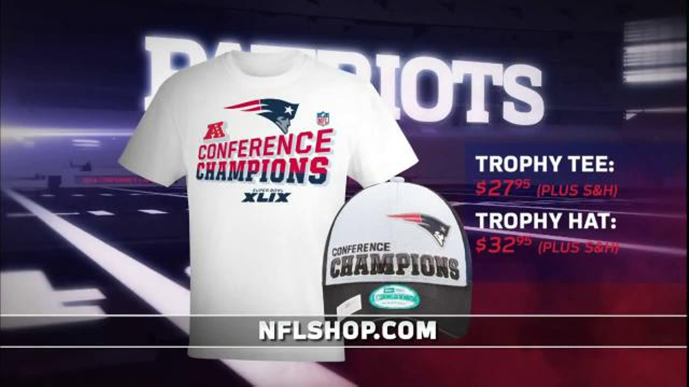 NFL Shop TV Commercial, 'Patriots: Winner of 2015 AFC Championship'