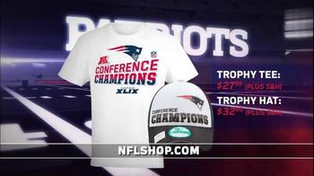 NFL Shop TV Spot, 'Patriots: Winner of 2015 AFC Championship' - Thumbnail 4