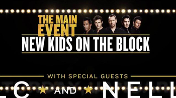 The Main Event Tour TV Spot, 'New Kids On the Block, TLC and Nelly' - Thumbnail 8