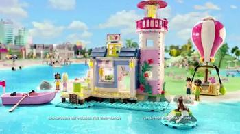 LEGO Friends Heartlake Light House and Hot Air Balloon TV Spot, 'Ice Cream'
