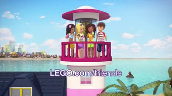 LEGO Friends Heartlake Light House and Hot Air Balloon TV Spot, 'Ice Cream' - Thumbnail 7