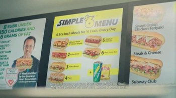 Subway Simple Six TV Spot, 'Mud Run' - Thumbnail 2