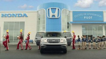 2015 Honda Pilot TV Spot, 'Evento de Liquidación Pilot: Prueba' [Spanish] - 99 commercial airings