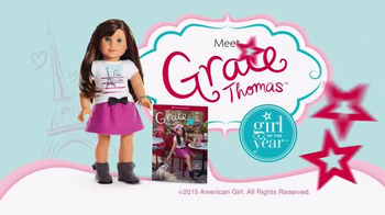 American Girl 2015 Girl of the Year TV Spot, 'Discover the Story of Grace' - Thumbnail 10