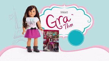 American Girl 2015 Girl of the Year TV Spot, 'Discover the Story of Grace' - Thumbnail 9