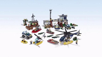LEGO City TV Spot, 'My City Swamp Police' - Thumbnail 7