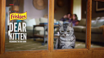 Friskies Super Bowl Teaser TV Spot, 'Dear Kitten: Regarding the Big Game' - Thumbnail 1