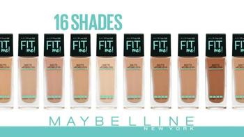 Maybelline New York Fit Me Matte + Poreless Foundation TV Spot - Thumbnail 6