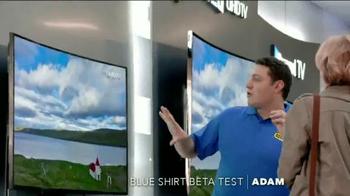 Best Buy Samsung Ultra Curve UHD TV Spot, 'Adam's Beta Test' - Thumbnail 1