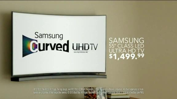 Best Buy Samsung Ultra Curve UHD TV Spot, 'Adam's Beta Test' - Thumbnail 8