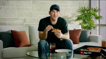Pizza Hut Triple Cheese Covered Stuffed Crust TV Spot, 'Play' Ft. Tony Romo - Thumbnail 1