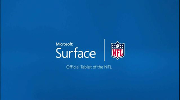 Microsoft Surface Pro 3 TV Spot, 'Patriots vs. Ravens Adjustment' - 1 commercial airings