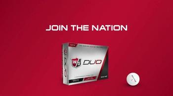 Wilson Duo Golf Ball TV Spot, 'Seriously' - Thumbnail 10