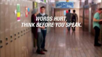 GLSEN TV Spot, 'Think Before You Speak' - Thumbnail 10