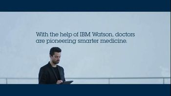 IBM Watson TV Spot, 'How to Make Medicine Smarter' Featuring Dominic Cooper - Thumbnail 9