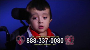 Shriners Hospitals For Children TV Spot, 'What is Love?'