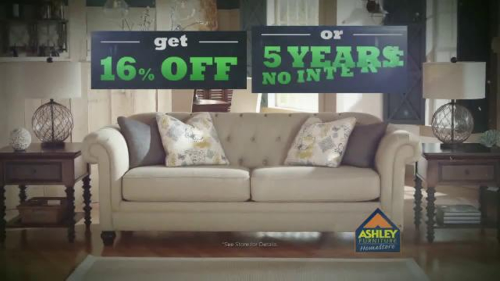 Ashley Furniture Homestore Tv Commercial Experience The