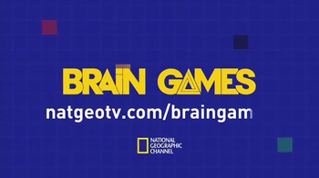 NatGeoTV.com/BrainGames TV Spot