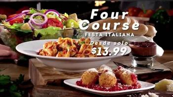 Olive Garden Four-Course Festa Italiana TV Spot, 'Gran Selección' [Spanish] - Thumbnail 2