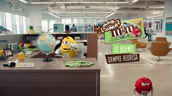 Crispy M&M's TV Spot, 'Globe' [Spanish] - Thumbnail 7