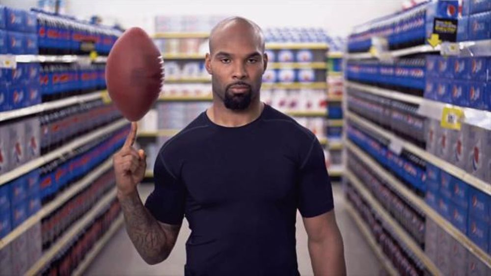 Pepsi: Matt Forte Gets Hyped for Halftime