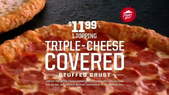 Pizza Hut Stuffed Crust TV Spot, 'Challenge' Featuring Rex Ryan, Tony Romo - Thumbnail 7