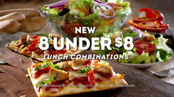 Olive Garden TV Spot, 'New 8 Under $8 Lunch Combinations' - Thumbnail 10
