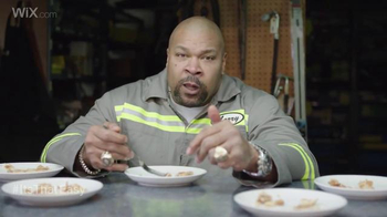 Wix.com Super Bowl Campaign TV Spot, 'Larry Allen Has Terrell Owens' Pies'