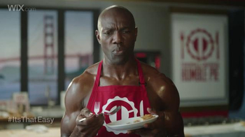 Wix.com Super Bowl Campaign TV Spot, 'Larry Allen Has Terrell Owens' Pies' - Thumbnail 5