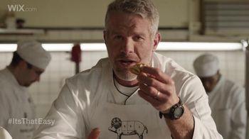 Wix.com Super Bowl Campaign TV Spot, 'Brett Favre & T.O. Pie Face Off' - 100 commercial airings