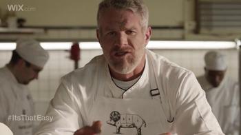 Wix.com Super Bowl Campaign TV Spot, 'Brett Favre & T.O. Pie Face Off' - Thumbnail 3