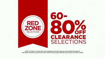 JCPenney Red Zone Clearance Event TV Spot, 'Get In' - Thumbnail 4
