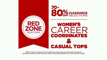 JCPenney Red Zone Clearance Event TV Spot, 'Get In' - Thumbnail 6