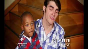 Shriners Hospitals For Children TV Spot, 'Love Everyday' Featuring RJ Mitte - Thumbnail 5