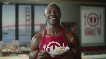 Wix.com Super Bowl Campaign TV Spot, 'Emmitt Smith & Terrell Owens' Pies' - Thumbnail 5