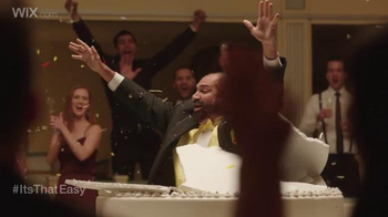 Wix.com Super Bowl Campaign TV Spot, 'Franco Harris Jumping Out of Cake' - Thumbnail 5