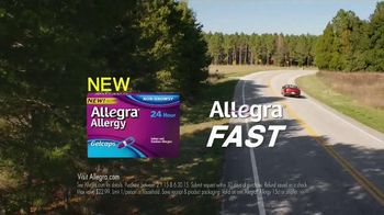 Allegra Allergy TV Spot, 'Camping and Cats' - Thumbnail 7