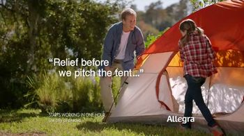 Allegra Allergy TV Spot, 'Camping and Cats' - 6746 commercial airings