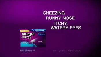 Allegra Allergy TV Spot, 'Camping and Cats' - Thumbnail 4
