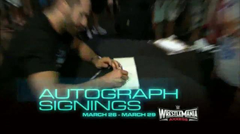 World Wrestling Entertainment TV Spot, 'Wrestlemania Axxess' - Thumbnail 5