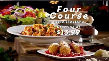 Olive Garden Four-Course Festa Italiana TV Spot, 'Delicious Selections' - Thumbnail 4