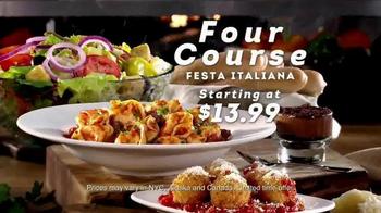 Olive Garden Four-Course Festa Italiana TV Spot, 'Delicious Selections' - Thumbnail 7